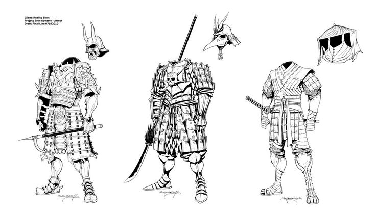 Iron Dynasty Armor II by *Inkthinker on deviantART ...