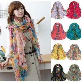 Find More Scarves Information about Drop Shipping female models Winter Garden Floral scarves infinity silk scarf shawl women brand scarf beach towel B0065,High Quality towel brand,China towel sport Suppliers, Cheap towel black from Popular Apparel on Aliexpress.com