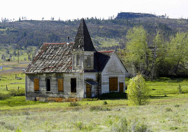 Old Indian Church  It's located in the indian village of Simnasho, and on the warm  Springs Resevation in Central,Or.