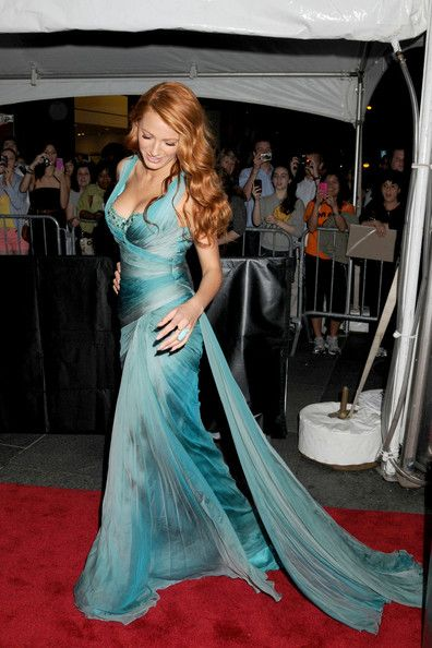 Blake Lively on the Red Carpet of the Time 100 Gala in 2011