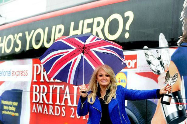 Source : http://www.walesonline.co.uk/  #bonnietyler #gaynorsullivan #gaynorhopkins #thequeenbonnietyler #therockingqueen #rockingqueen #music #rock #2013 #theprideofbritain