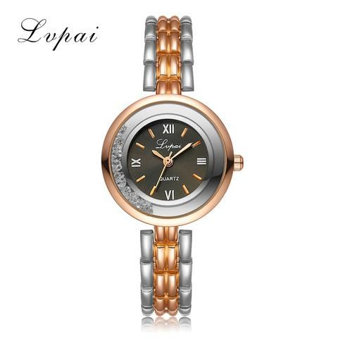 [EBay] Lvpai 2017 New Women Gold Bracelet Quartz Watch Steel Dress Fashion Female Ladies Wristwatch Luxury Crystal Bracelet Watches