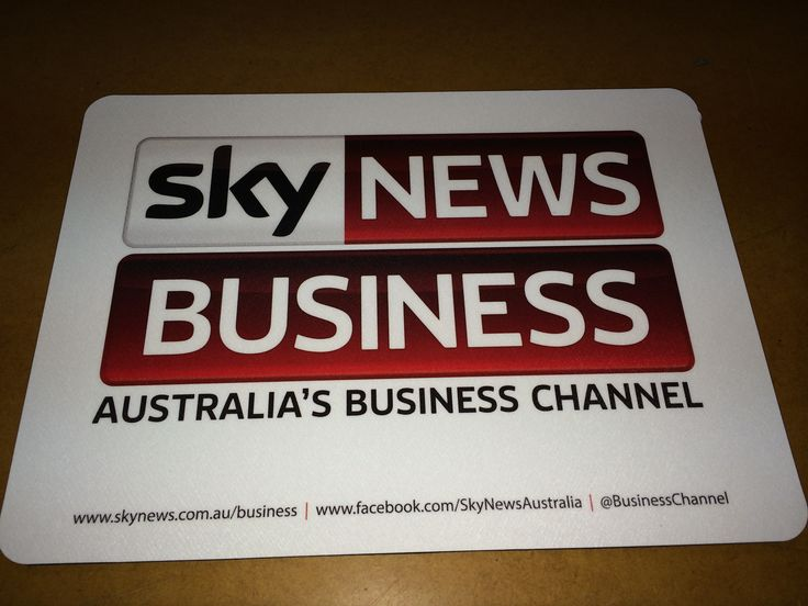 Sky News mouse mat, produced in Australia