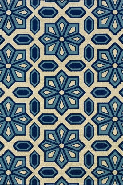 Beautiful Blue Hand Tufted Rug TTP-509