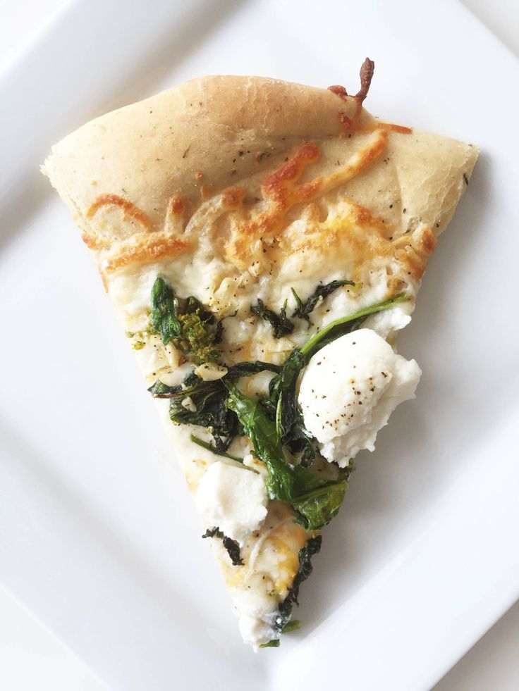 ... pizza with ricotta and mushrooms whole wheat broccoli rabe ricotta