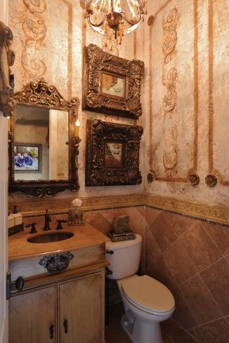 17 Best Images About Powder Rooms On Pinterest Shabby