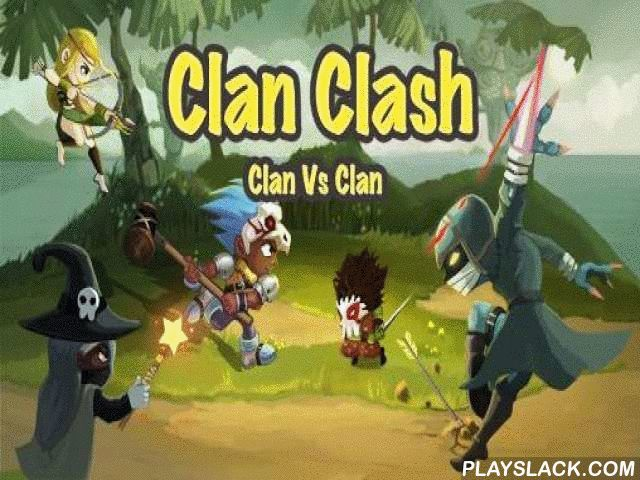 Clan Clash: Clan Vs Clan  Android Game - playslack.com , create your own clan. make and enhance your invulnerable fortress. collect a militium of conquerors with distinct characteristics. transport your clan to properity in this Android game. enhance your militium, register conquerors, druids, experts, mercenaries, and so on. combat against mighty foes and preserve your body. Fortify your palace, make a collection of constructions and artifacts. control your forces in fight, use mighty…
