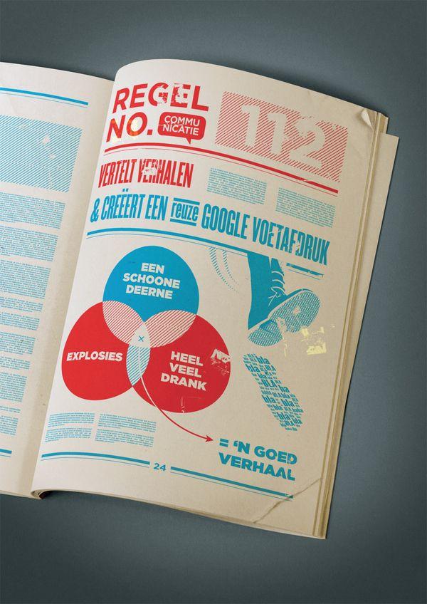 The Creatie magazine, designed by Mokai, an Agency from the Netherlands.  [Creatie Magazine Design]  [Creatie Magazine Design]  [Creatie Magazine Design]  [Creatie Magazine Design]  [Creatie Magazine Design]  [Creatie Magazine Design]    Momkai