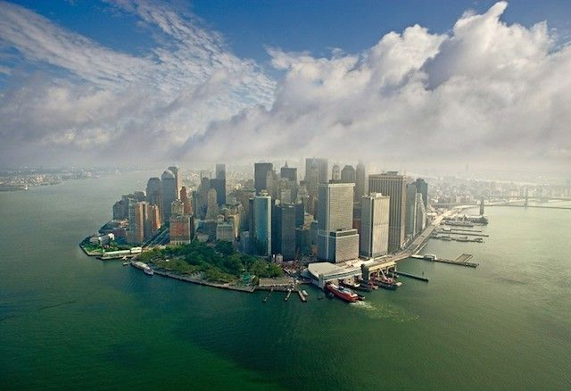 Stunning Panoramic Pictures Around The World – Fubiz™ Downtown Manhattan, New York