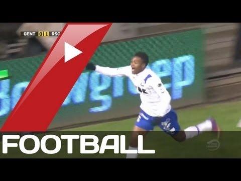 FOOTBALL -  AA Gent v Anderlecht 1-1 | Belgian Pro League Goals  Highlights | 16-03-2013 - http://lefootball.fr/aa-gent-v-anderlecht-1-1-belgian-pro-league-goals-highlights-16-03-2013/