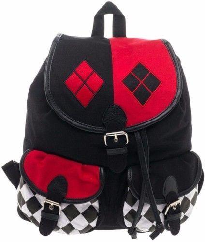 Harley Quinn Knapsack Mochila Backpacks Unisex Clothing Gift For Men And Women  | eBay