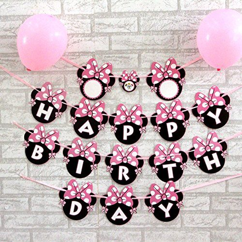 Enjoy these Minnie Mouse-themed, free, party printables! The collection includes: invitations, party circles, welcome signs,
