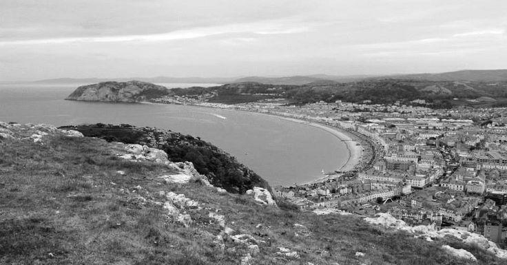 Llandudno from Great Orme, Wales