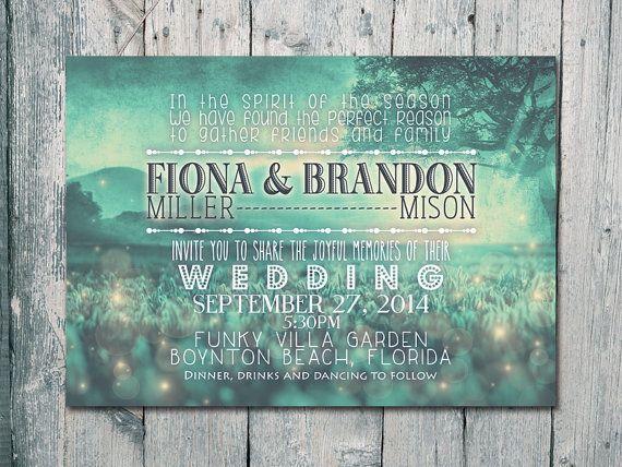 Set of 100   TEAL  Sunset in Paradise Wedding door WeddingSundaeShop, $135.00
