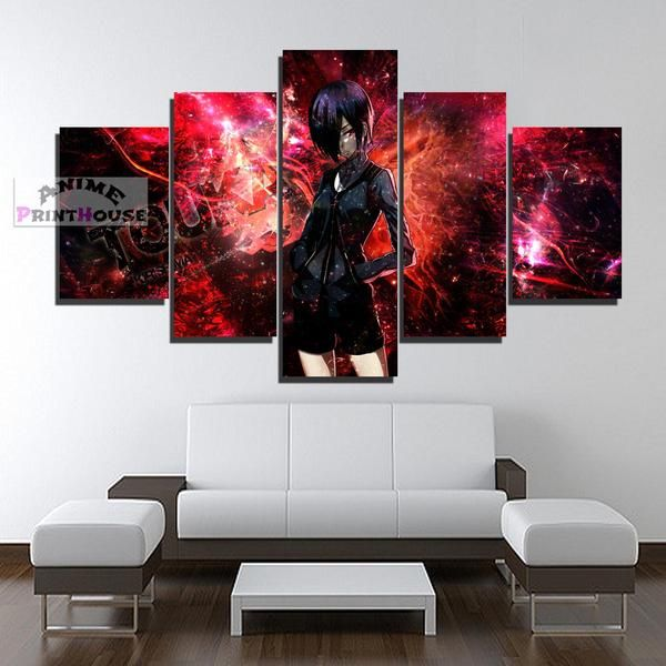 Tokyo Ghoul Canvas Print , 1 to 5 Pieces, Touka in Red    #tokyo #ghoul #canvas #print #painting #framed #anime #merchandise #poster #kaneki #touka     https://www.animeprinthouse.com/collections/tokyo-ghoul-canvas-prints-collection-1-to-5-piece/products/tokyo-ghoul-canvas-print-1-to-5-pieces-touka-in-red?variant=5612113526813