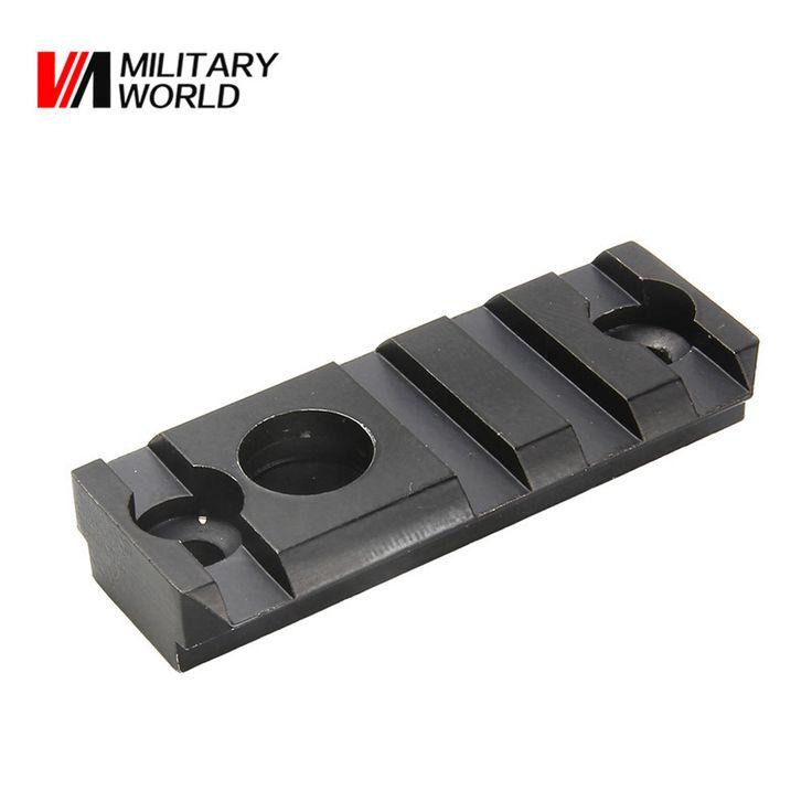 2 pcs/pack 55mm 4 Slots Gun Rfile Laser Sight Scope Flashlight Base Adapter Picatinny Weaver Rail Mount Base Hunting Accessories