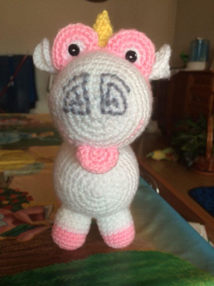 Amigurumi Unicornio Mi Villano Favorito : El unicornio de Agnes (mi villano favorito) Creaciones ...