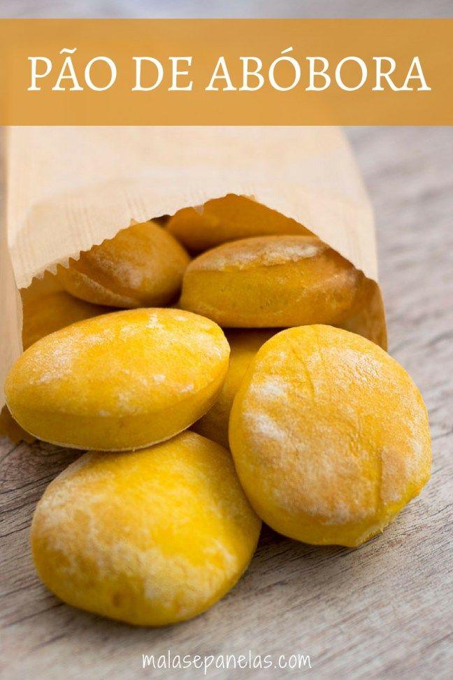 Pão de Abóbora | Malas e Panelas