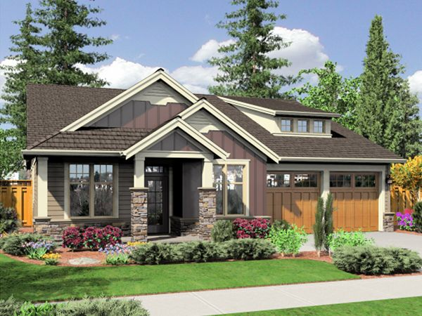 Small Bungalow House Plans | Mountain Hollow Bungalow Home Plan 043D-0029 | House Plans and More
