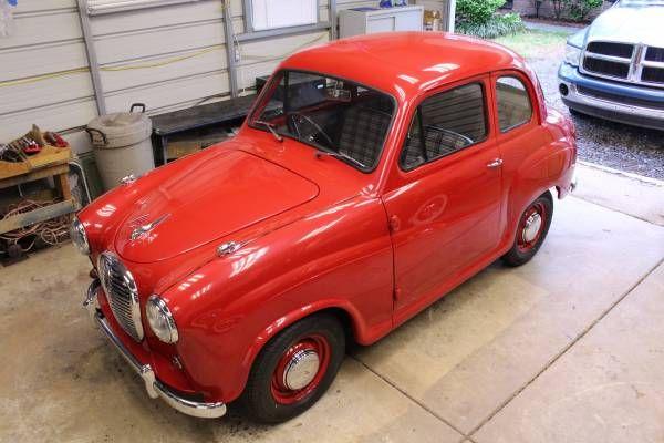 1958 Austin A35, completely restored - $12,670 Warner ...