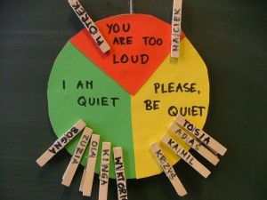 Noise Level Meter.... Fantastic idea! I love love LOVE anything that stops a teacher from yelling and screaming!!