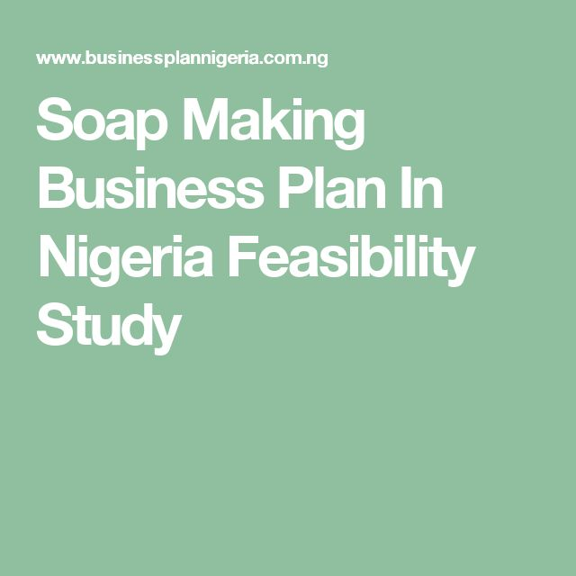 samples of business plans in nigeria today