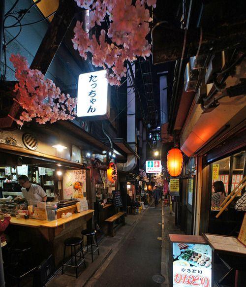 夜散歩のススメ「新宿思い出横丁」 東京都新宿区