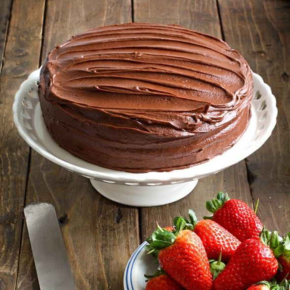 Chocolate cake baking tips - Paul A Young chocolate tips - Good Housekeeping