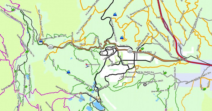 GPS Map for Hiking, Biking, Horseback and Off-Roading.
