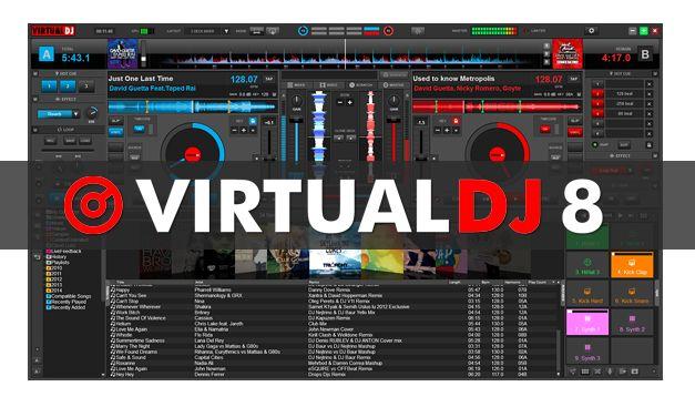 Download Atomix Virtual DJ Pro 8.0.2345 Multilingual + Content key Free