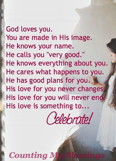 Remember how much you are loved. No matter what is going on. 10 ways God's love is perfect and amazing...