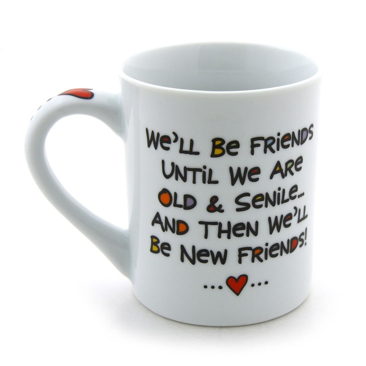 best friend gifts | Best Friend Forever (BFF) 16 Oz Coffee Mug by Our Name Is Mud