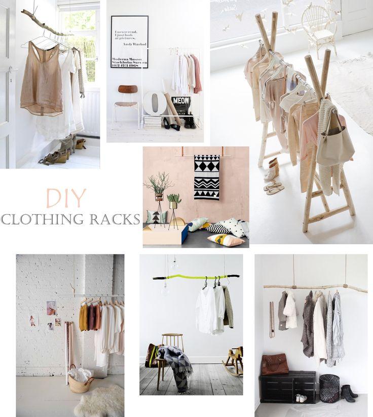 Porte-vêtements DIY