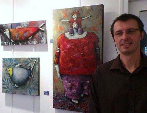 Pascal Merlet, artista francés