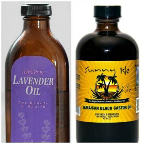 NL: Haargroei stimuleren met lavendelolie & castor oill ENG: Stimulating hair growth with lavender oil & castor oil (use google translation)