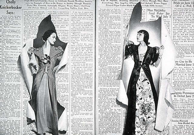 Y en junio de 1938, Brodovitch realizó esta barbaridad en las páginas de Harper´s Bazaar. Sin palabras.