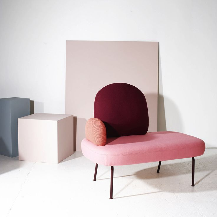 "Despite its saturation in 2017, the ""millennial pink"" trend has shown no signs of slowing. This year, keep things up to date by pairing your pastel pinks with some darker berry tones. Using different shades from the same colour family will give a sense of depth to the scheme. Image: norwegianstructure.com #interior #design #trend #millennial #pink #blush #pastel #decor #decorating #home #berry #burgundy #cabernet #maroon #colour #scheme"