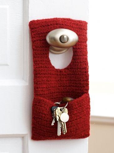 Идеи вязаных мелочей для дома - Ярмарка Мастеров - ручная работа, handmade