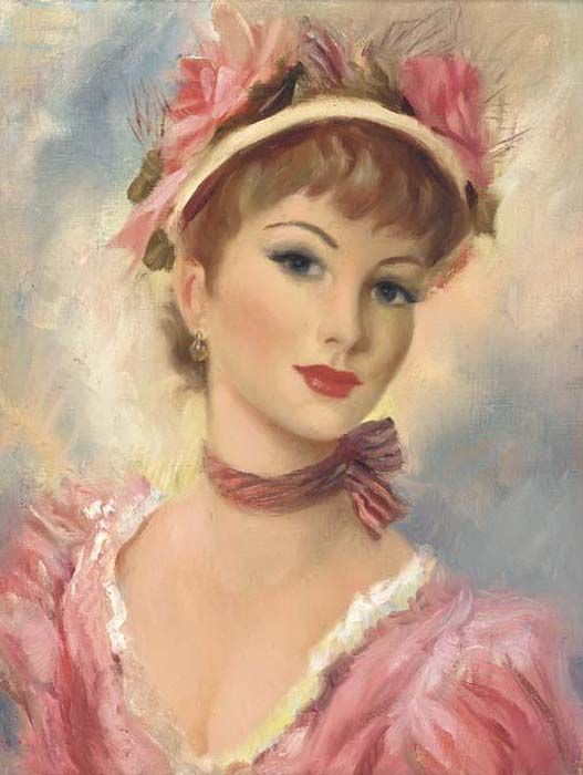 7 das Artes: As lindas damas de Frederic John Lloyd Strevens.