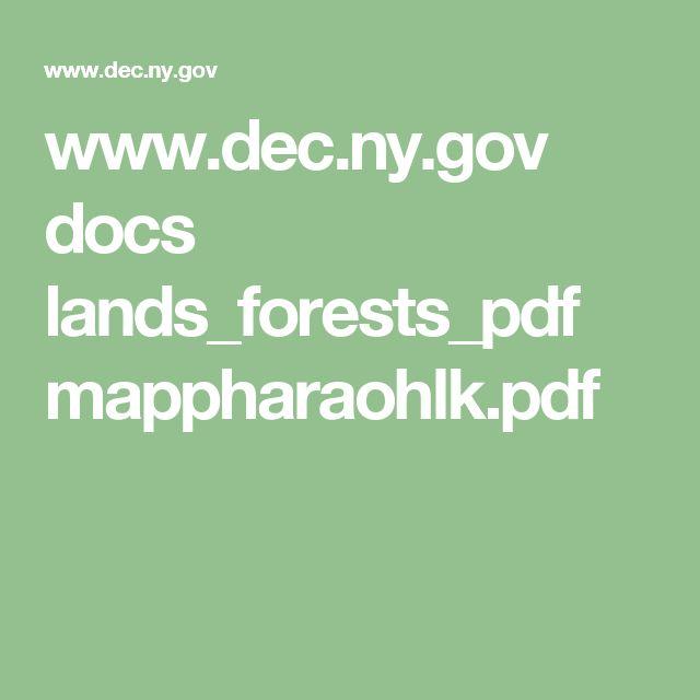 www.dec.ny.gov docs lands_forests_pdf mappharaohlk.pdf