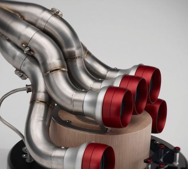 Old Formula 1 Exhausts Are Being Turned Into Speakers And They're Beautiful - UltraLinx