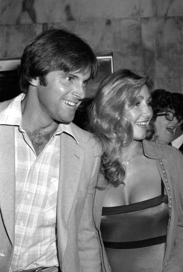From Bruce to Caitlyn: Photos of Jenner Over the Years: Bruce Jenner in 1981 With Wife Linda Thompson