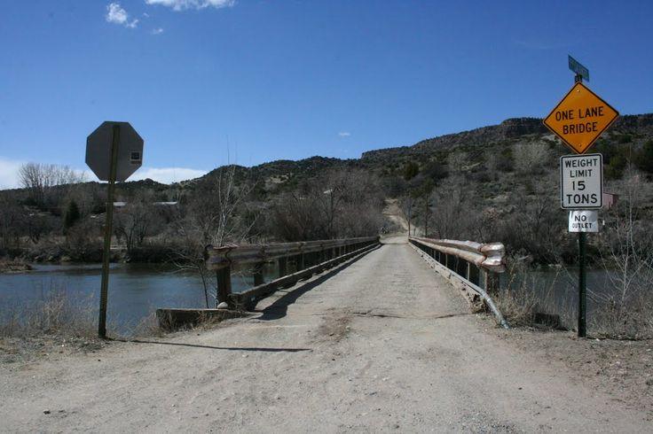 Rio Grande Bridge South of Taos