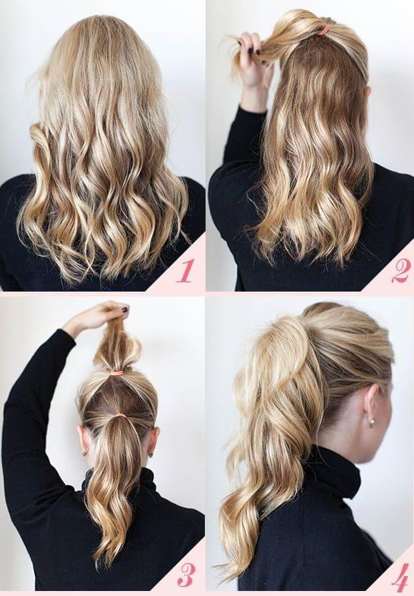 Peinados Faciles Y Rapidos Paso A Paso Peinados Peinados Pelo Largo Paso A Paso Peinados Con Trenzas Pelo Corto