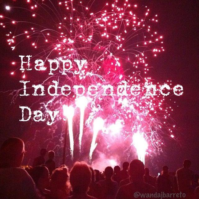 Felíz Día de la Independencia USA! | Happy Independence Day USA! | photo by Wanda J. Barreto