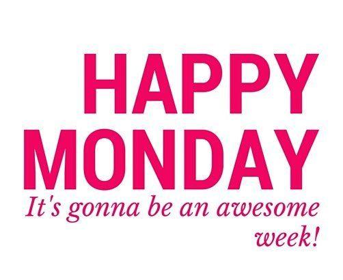 Szuper hétfő! ;) Egy csodás és napsütéses hetet kívánok mindenkinek! :)