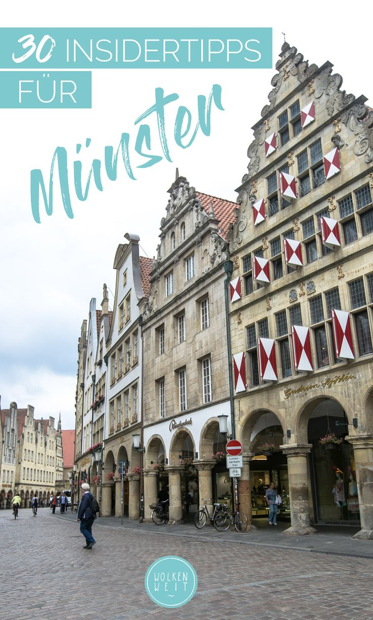 30 Insidertipps für Münster – die besten Sehenswürdigkeiten, Highlights & Tipps für einen Städtetrip in die lebenswerteste Deutschlands.