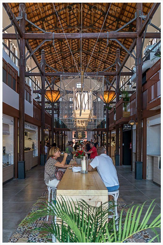 Mallorca Ausflug Tipp - Der neue Gourmetmarkt in  Palma - Gutes Essen an 14 Food Ständen