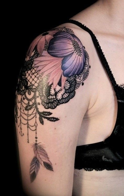 1000 ideas about lace flower tattoos on pinterest lace for Tn tattoo laws