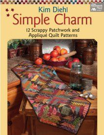I just entered to #win a copy of Simple Charm from @FaveQuilts and @Martingale / That Patchwork Place